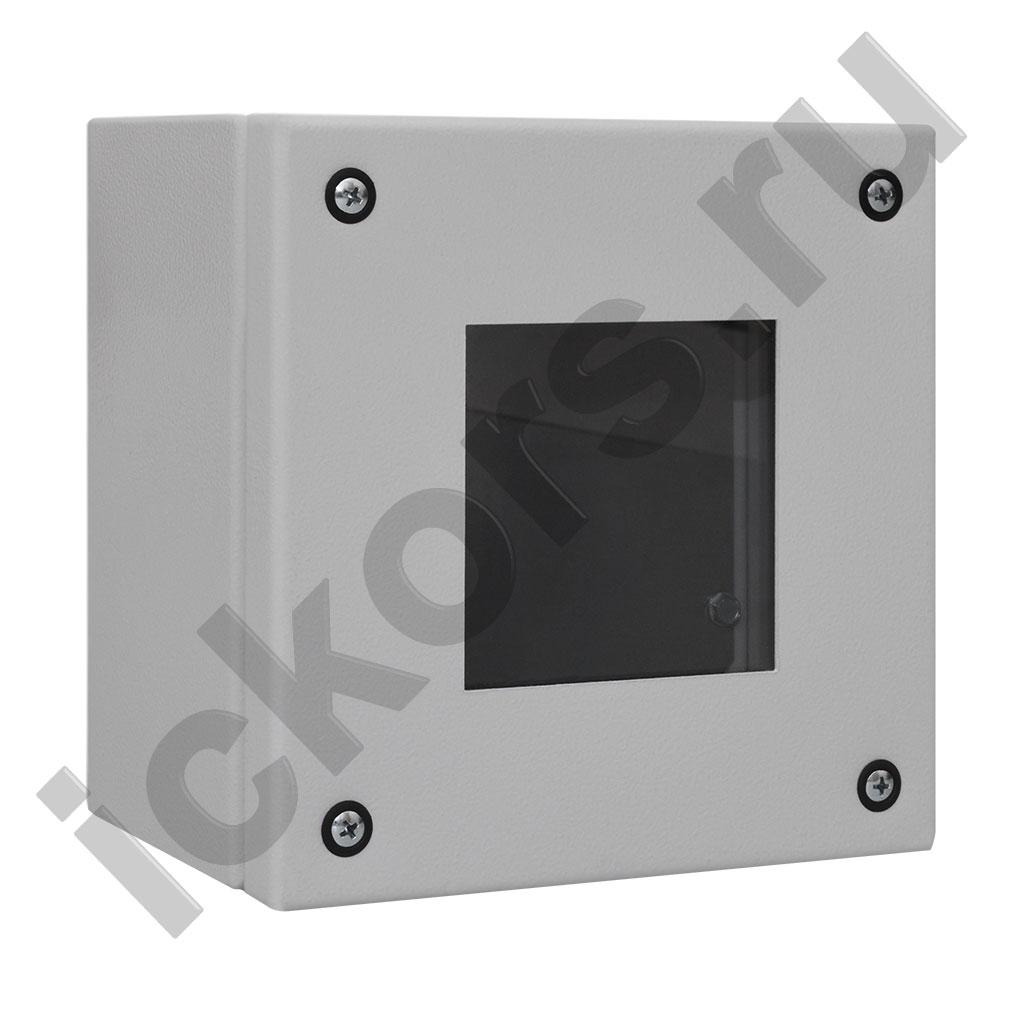 Распределительная коробка с обзорной крышкой
