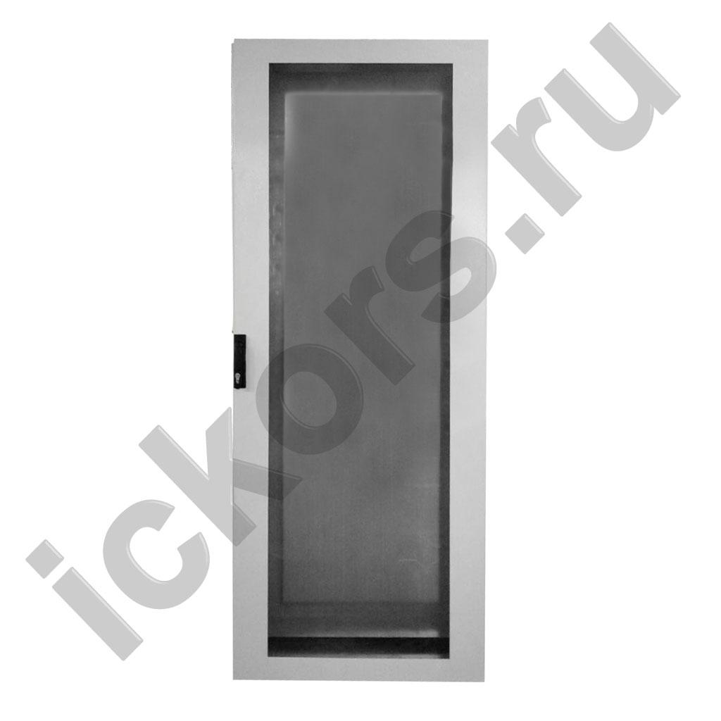 Распределительный шкаф напольный с обзорной дверью