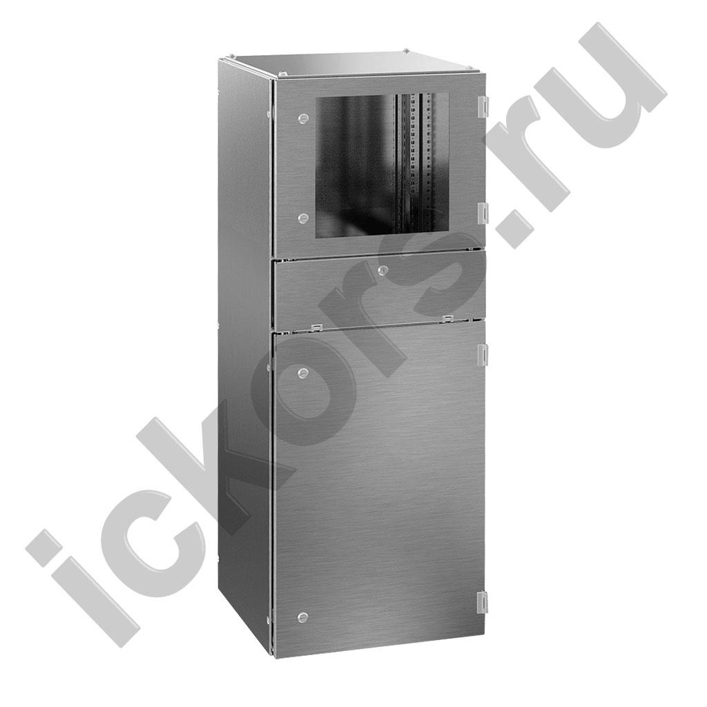 Шкаф компьютерный из нержавеющей стали