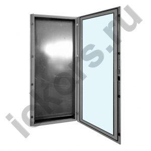 Стальной шкаф распределительный напольный с обзорной дверью MPQ-V 2200 мм