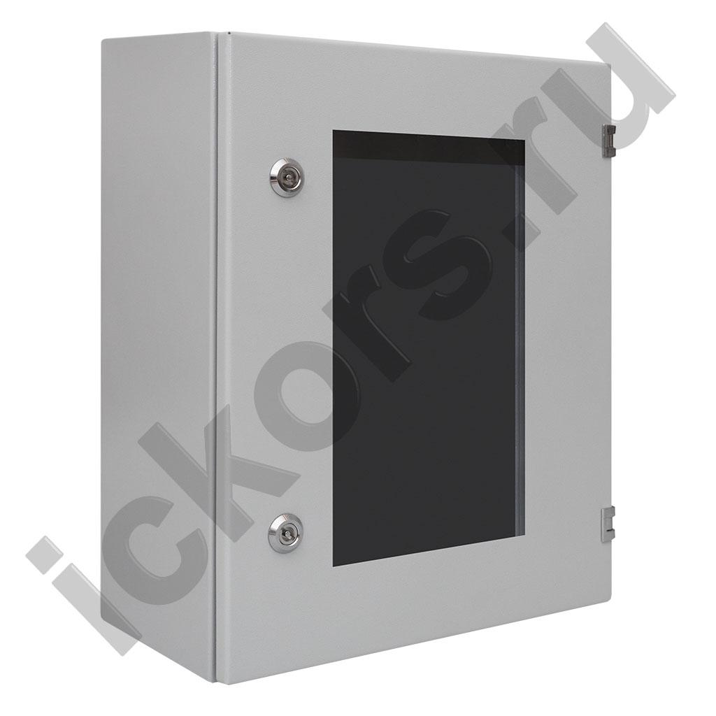 Шкаф распределительный с обзорной дверью компактный