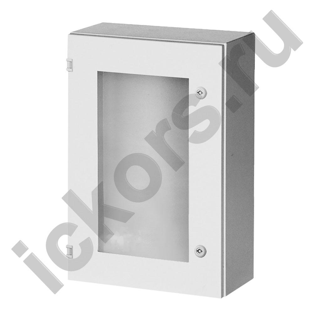 шкаф распределительный с обзорной дверью